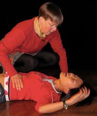 Alice & Bonny perform a scene