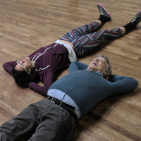 Samantha & Frederic perform a scene